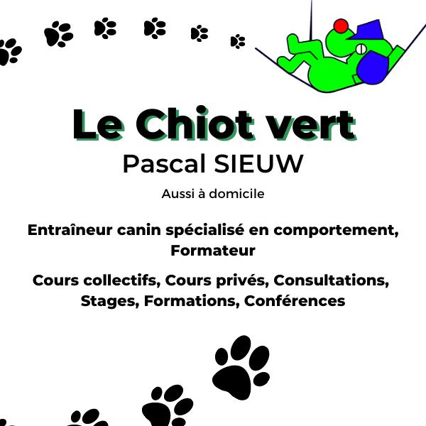 Le Chiot Vert | Pascal Sieuw | Comportementaliste canin
